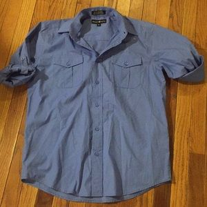 Beverly Hills polo club size medium button shirt